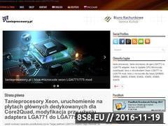 Miniaturka www.tanieprocesory.pl (Tanie procesory Core2Quad)