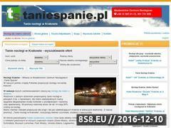 Miniaturka domeny www.taniespanie.pl