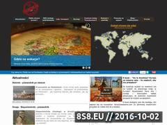 Miniaturka Strona o tym jak tanio zwiedzać świat (taniezwiedzanie.com)