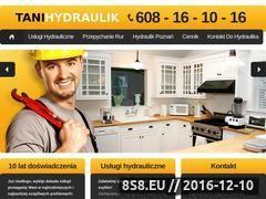 Miniaturka domeny tanihydraulik.com.pl