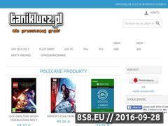 Miniaturka taniklucz.pl (Klucze aktywacyjne do gier, CD key i prepaid)