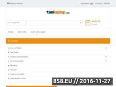 Miniaturka domeny tanilaptop.com