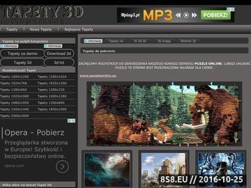 Zrzut strony Tapety 3d Do pobrania fajne tapety PC 3d i 2d super darmowe na pulpit!!!!