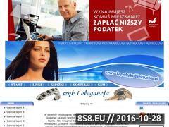 Miniaturka domeny www.tapetykobiety.cba.pl