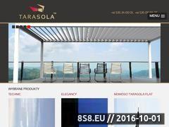 Miniaturka domeny www.tarasola.pl