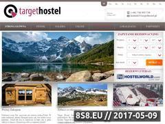Miniaturka domeny www.targethostel.pl