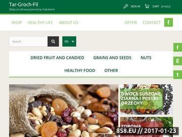 Zrzut strony Zdrowa żywność