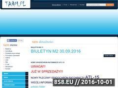 Miniaturka domeny www.tarm.pl