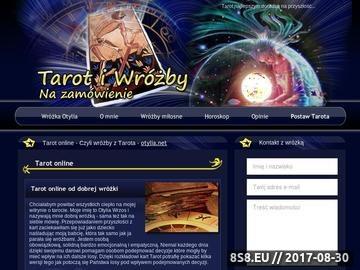Zrzut strony Tarot