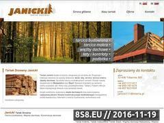 Miniaturka domeny tartak-janicki.pl