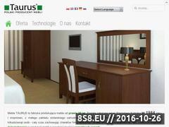 Miniaturka domeny www.taurus.pl