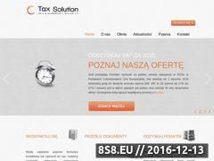 Miniaturka domeny tax-solution.eu
