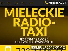 Miniaturka Zrzeszenie oferuje usługi transport osób taxi (www.taxi-mielec.com.pl)