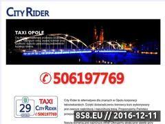 Miniaturka domeny www.taxi-opole.pl