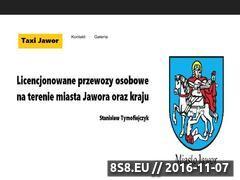 Miniaturka domeny www.taxijawor.pl
