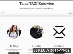 Miniaturka taxikato.pl (Transport na lotnisko, taxi Pyrzowice i taxi Katowice)