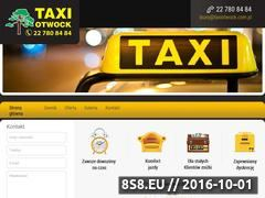 Miniaturka domeny www.taxiotwock.com.pl