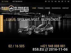 Miniaturka domeny www.taxislovakia.com