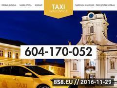 Miniaturka Taxi, całodobowe usługi przewozu osób (taxiwadowice.pl)