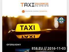 Miniaturka domeny taxizawiercie.eu