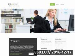 Miniaturka domeny www.taxmoney.pl