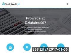Miniaturka domeny taxonline24.pl