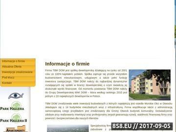 Zrzut strony Sprzedaż Apartamentów Otwock