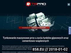 Miniaturka tbpro.pl (Tynkowanie maszynowe)