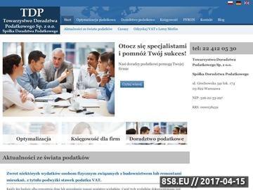 Zrzut strony Dokumentacja Cen Transferowych, Ceny transferowe, Towarzystwo Doradztwa Podatkow