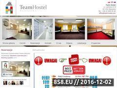 Miniaturka domeny www.teamhostel.com