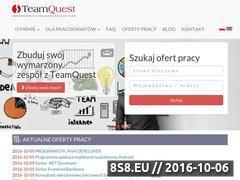 Miniaturka domeny teamquest.pl