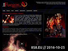 Miniaturka teatrognia.com (Pokazy Fireshow, UV Show i Bodypainting...)