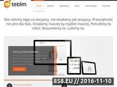 Miniaturka domeny www.tebim.pro