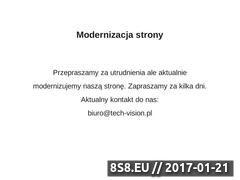 Miniaturka domeny www.tech-vision.pl