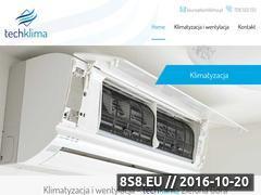 Miniaturka techklima.pl (Klimatyzacja, wentylacja i rekuperacja)