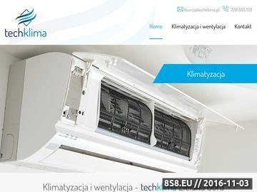 Zrzut strony Klimatyzacja, wentylacja - montaż i serwis, sprzedaż: Toshiba, Panasonic