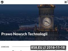 Miniaturka techlaw.pl (Prawo Nowych Technologii)