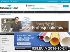 Miniaturka domeny techniczny24.com