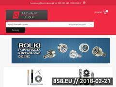 Miniaturka technikcnc.pl (Wózki, szyny Hiwin, Rexroth i Ina)