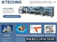 Miniaturka domeny techno.com.pl