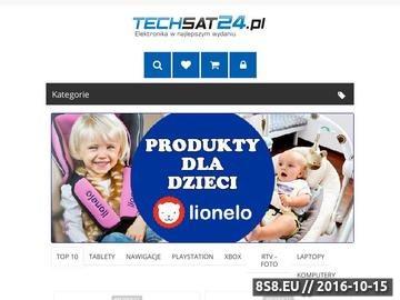 Zrzut strony Sklep internetowy - elektronika w najlepszym wydaniu