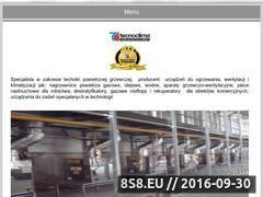 Miniaturka domeny www.tecnoclima.pl