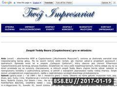 Miniaturka domeny teddybears.twoj-impresariat.pl