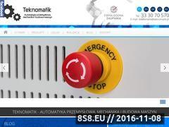 Miniaturka domeny www.teknomatik.pl