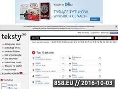 Miniaturka domeny teksty.org