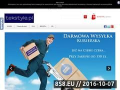 Miniaturka domeny tekstyle.pl