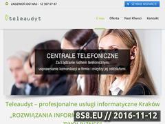 Miniaturka www.teleaudyt.pl (Outsourcing IT Serwis)