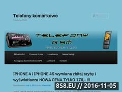 Miniaturka domeny www.telefony-gsm.net