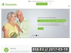 Miniaturka teleopieka.com.pl (System opieki senioralnej)
