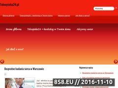Miniaturka domeny www.teleopieka24.pl